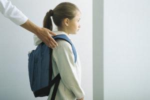 Родители ждут когда их дети пойдут в школу