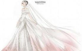 Розовое свадебное платье – новый писк моды