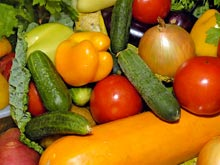 Овощи и фрукты в диете связаны с позитивным восприятием мира