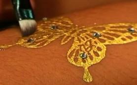 Татуировка золотом: что это такое