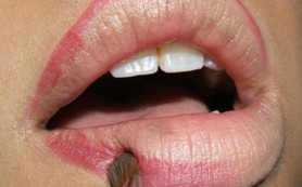 Правильный макияж губ: помада