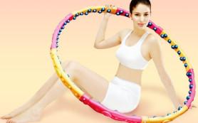 Как массажный обруч поможет похудеть