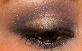 Правильное нанесение макияжа глаз