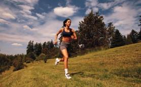 Бег способствует похудению