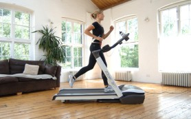 Беговая дорожка поможет избавиться от лишних килограммов