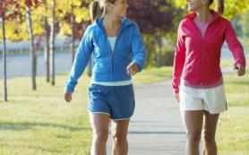Ходьба поможет избавиться от лишних килограммов