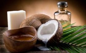 Кокосовое масло поможет в уходе за кожей