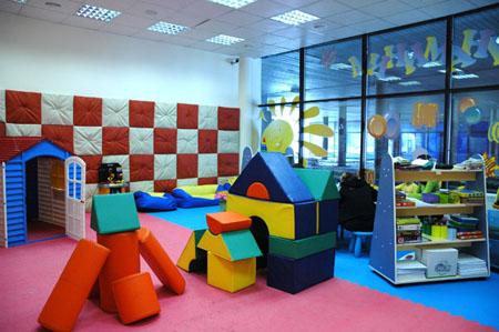 Обустройство частного детского сада