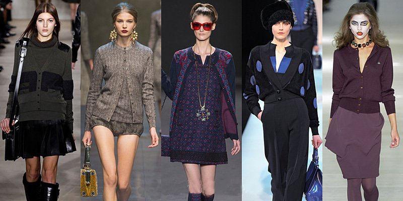 Модные кардиганы осень 2016