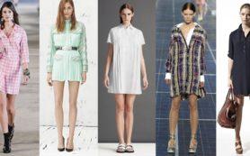Как выбрать платье рубашку?