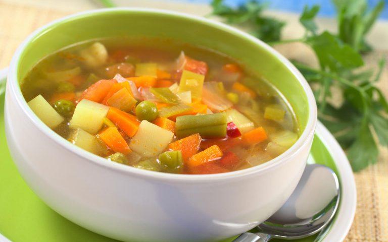 Сытая суповая диета
