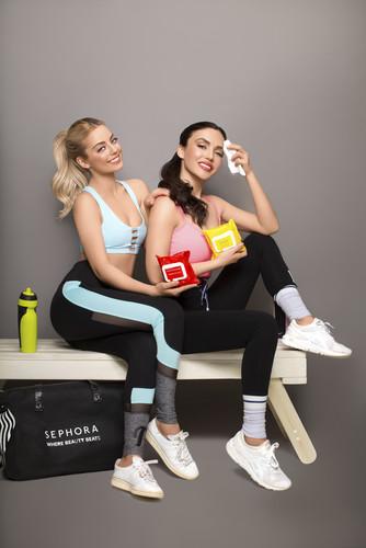 Солистки группы Serebro представили новую новой линейку Colorful Skincare от Sephora