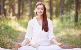 Медитация способствует долгосрочной потере веса