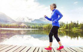 Регулярные прогулки защищают пожилых женщин от ранней смерти