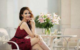 Хорошее настроение помогает женщине стать красивой