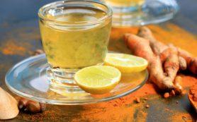 Невероятно целебный напиток из куркумы с лимоном
