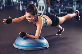 Необычные приспособления для фитнеса: BOSU