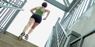 Приспособления для фитнеса: лестница