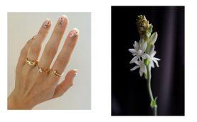 5 идей цветочного маникюра на весну