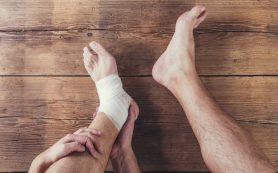 Оказание первой медицинской помощи при растяжении связок