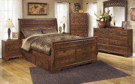 Спальная мебель из дуба