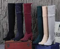 Ботфорты из кожи, замши, текстиля: модные особенности, цвета и нюансы стиля