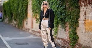С чем носить джоггеры — 4 стильных женских образа от стилиста