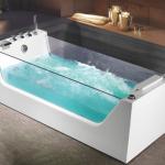 Гидромассажные акриловые ванны